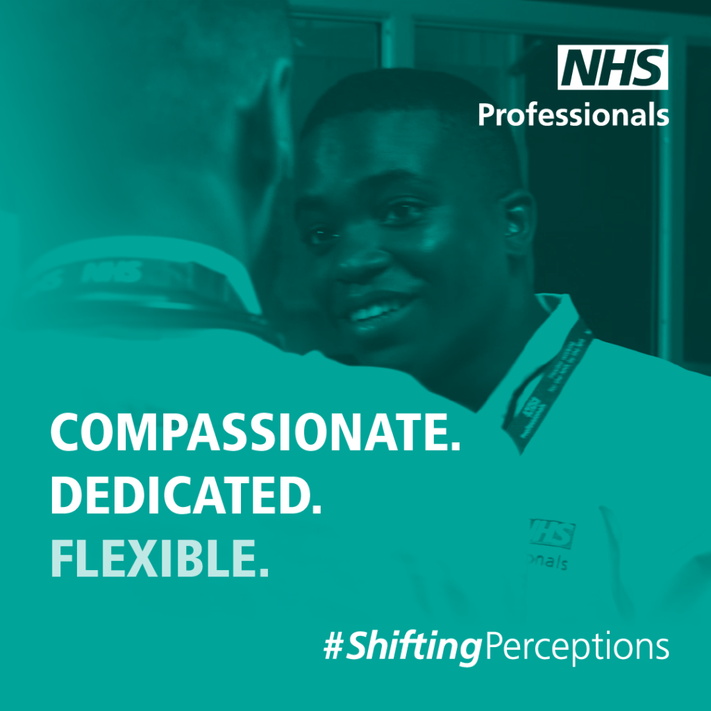 NHSP - compassionate dedicated flexible