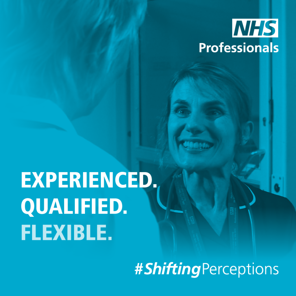 NHSP - experienced qualified flexible