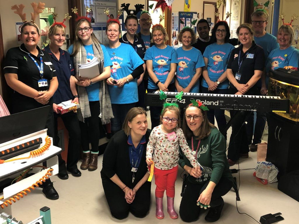 Music therapy at Ipswich Hospital