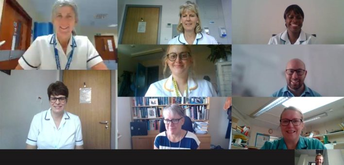 Collage of the members of the AHP rehab pathway group