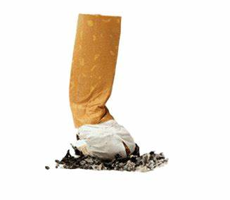 Generic photograph of a stubbed-out cigarette